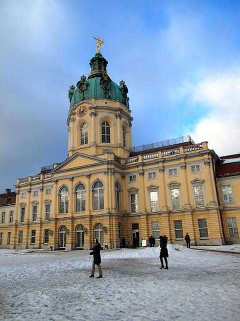 Le palais de Charlottenburg Berlin