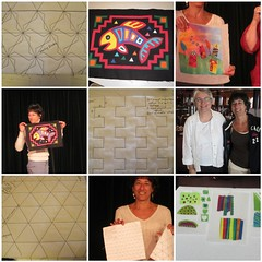 having fun learning at Quilt Seminars at Sea, February 2011