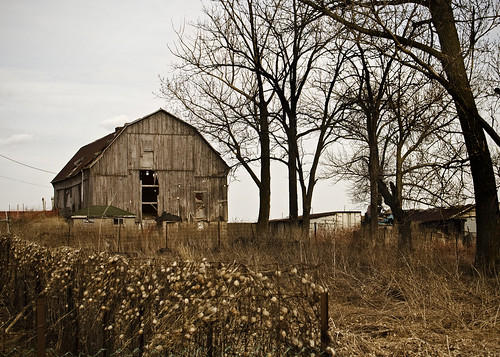 Barn, Keele Street, Maple, Ontario