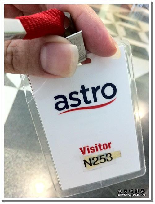 Astro Visitor Tag