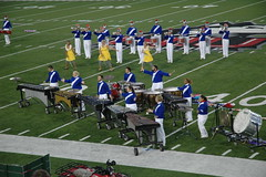 Marching Band Competition at NIU Football Stadium