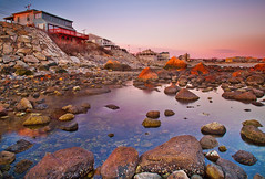 Tide Pool Sunrise in Plymouth, Massachusetts (chris lazzery) Tags: longexposure sunrise massachusetts plymouth canonef24105mmf4l 5dmarkii bw30nd