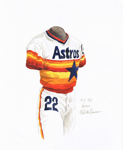 houston astros uniforms. Houston Astros 1975 uniform