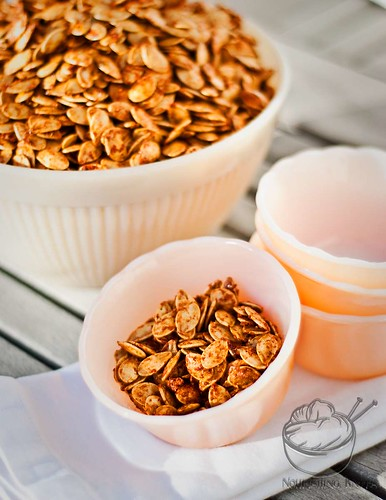 Smoky Sweet Pumpkin Seeds