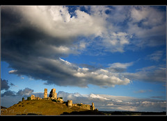 When the light came to Corfe... (Chrisconphoto) Tags: storm skyscape coast walker dorset bigsky corfe jurassic corfecastle chrisconway goodlight antonyspencer countrywise