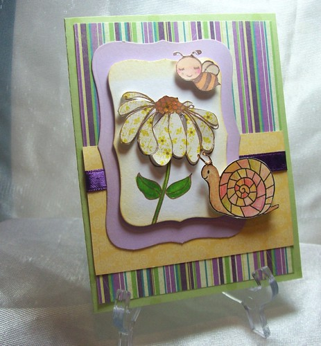 Lily Pad Inspiration Card by judkajudy