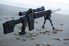 Armalite AR-10 rifle (Timo Vehviläinen) Tags: winter gun scope rifle sniper shooting harris talvi firearm ase bipod sniperrifle armalite loppi ar10 kivääri schmidtbender magpulprsstock ergogrip schmidtbender4–16x42pmiilp eratac