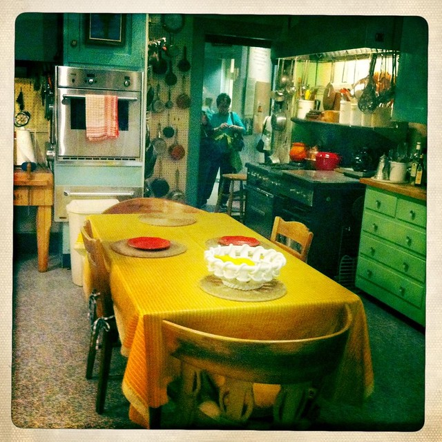Julia Childs' kitchen view 2