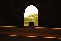or dark (parth joshi) Tags: dawn cycling child squirrell muses desolate mehrauli monumentsindelhi bhattimines adamkhanstomb