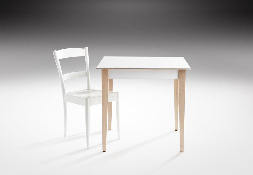 Globe Chair & Shaker Table, Re-edition by Haldane Martin, Photo Micky Hoyle