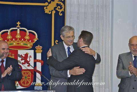 toma de poseción del Delegado de Gobierno de Melilla Antonio Claret