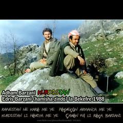 Adham Barzani - Edris Barzani (Kurdistan Photo ) Tags: freedom democracy peace iran iraq syria fighters genocide kurdistan barzani kurd anfal barzan  peshmerge  krdistan  pmerge
