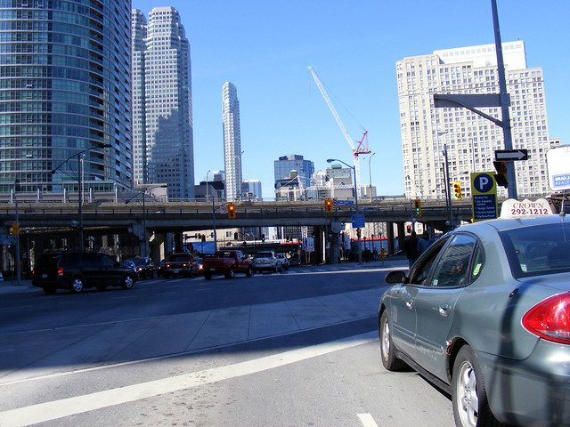 Yonge Street at Gardiner/Lake Shore