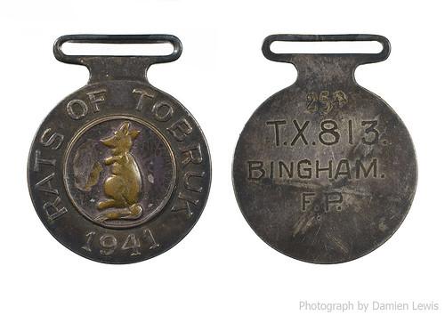Rats Of Tobruk Medal