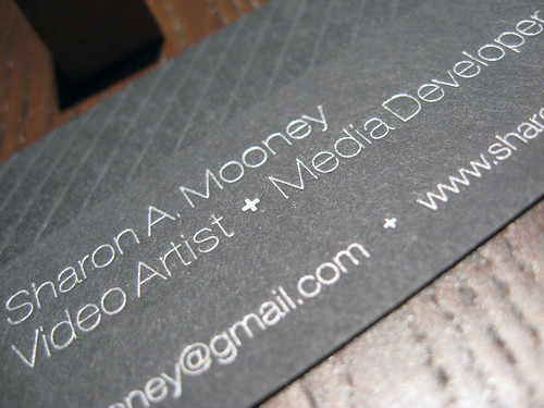 Sharon Mooney Letterpress Cards