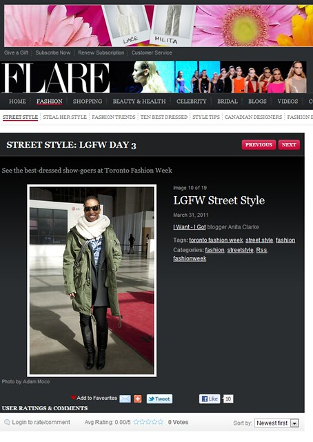 Flare March 31 2011