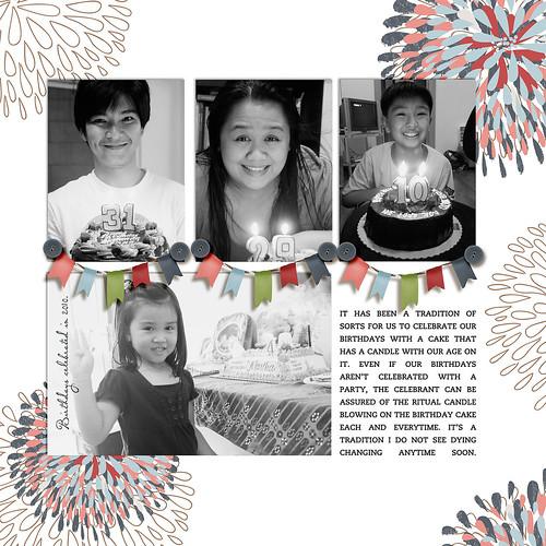 Birthdays and a Cake