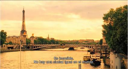 Midnight in Paris Torre Eiffel