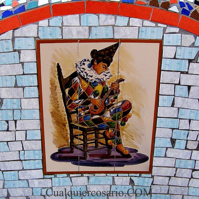 Mosaico Arlequin