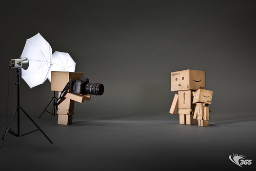Behind the Scenes: Danboard Portrait 105/365