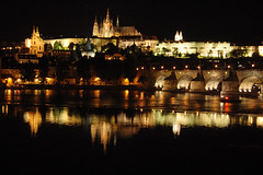 Dear, old Europe #3 - Prague (stedef) Tags: reflection castle river prague fiume praga praskhrad castello vltava hradcany riflesso moldava mygearandme