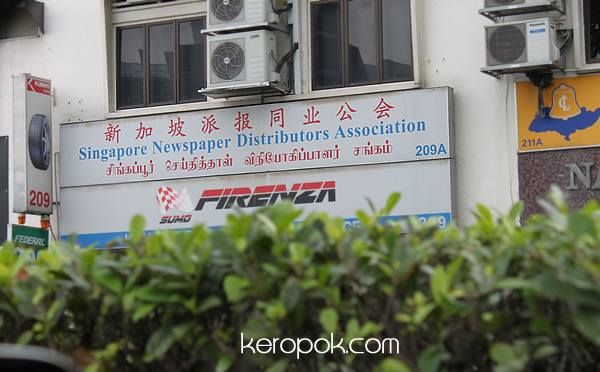 Singapore Newspaper Distributors Association