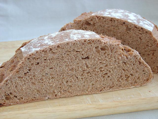 Pan de espelta integral Bio con levadura natural