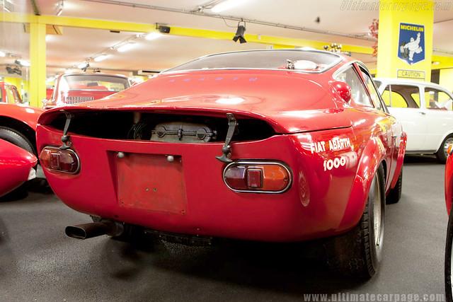 Fiat Abarth 1000_Museu Maranello Rosso