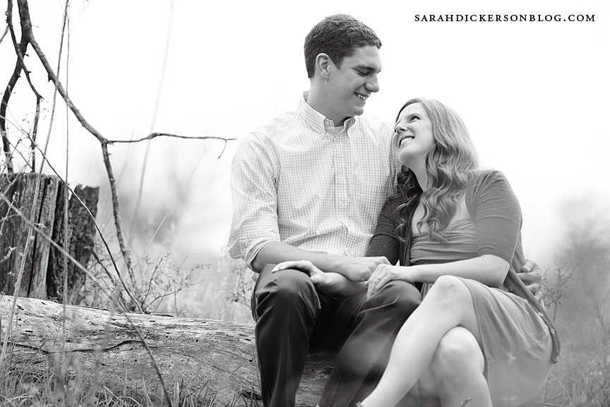 Kansas City country engagement photography