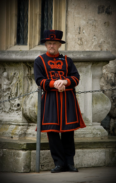 london - tower yeoman