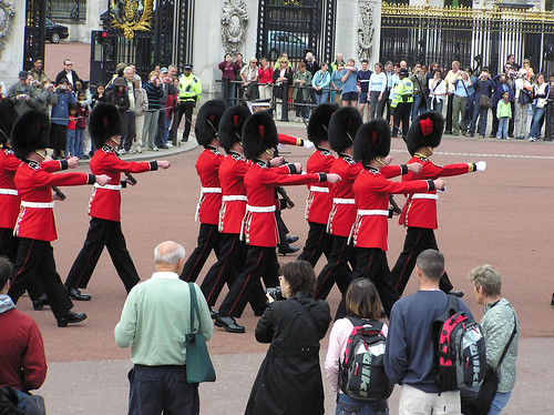 Changing of The Guard exiting