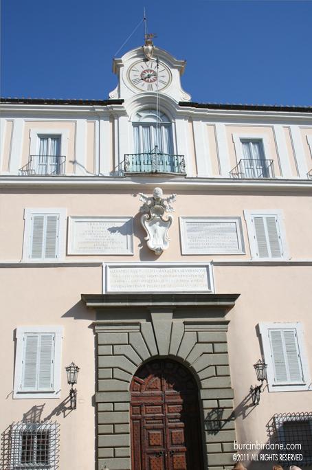 Castel Gandolfo Papa Yazlik 1