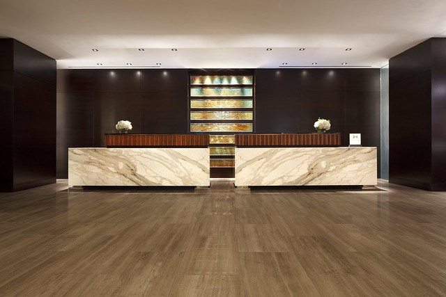 Hilton Registration Desk