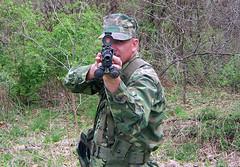 100_4308 (cowboy chris bbq) Tags: cute sexy hat usmc model marine gun photoshoot calendar boots modeling military rifle models columbia camo mo cap cover missouri blonde posters casual camoflage m14 booniehat cowboychrisbbq
