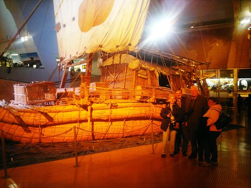 Heierdahl's papyrus boat RA II