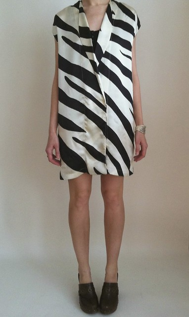 Vain & Vapid Zebra Print Dress