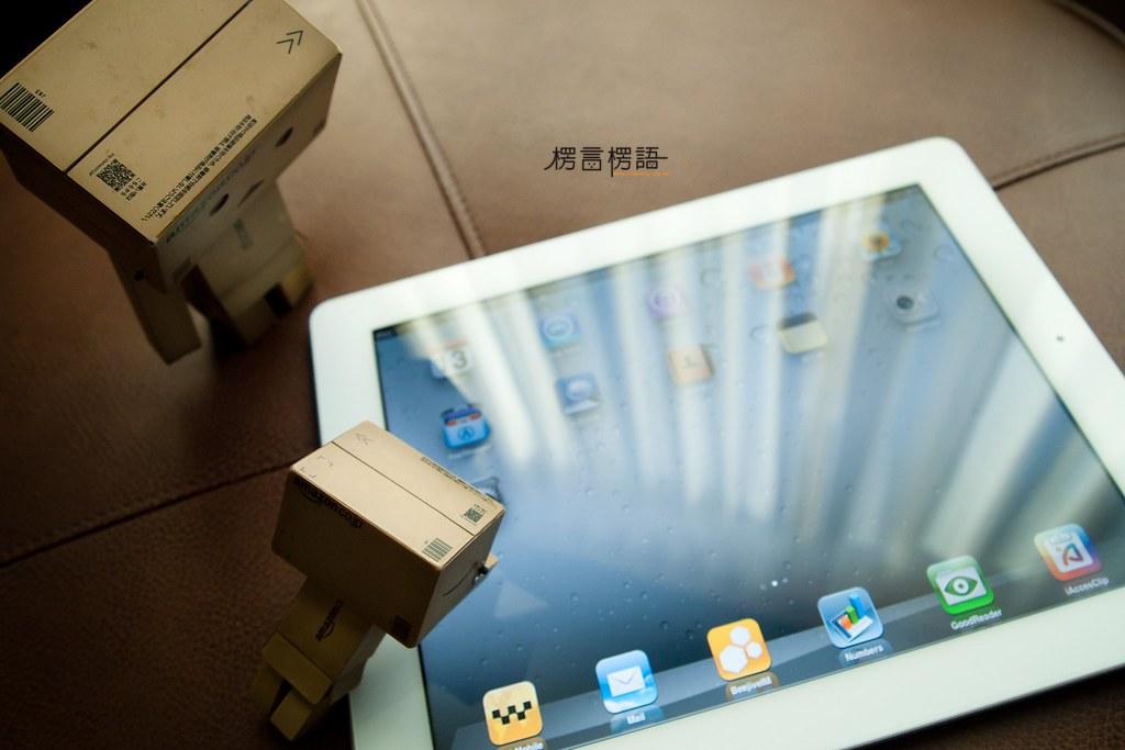 [楞言楞語]阿楞 + iPad2