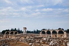 Umayyad Ruins (Skept) Tags: lebanon ruins umayyad anjar bekkavalley nikond90