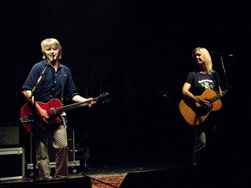 Neil Finn and Sue Johnson