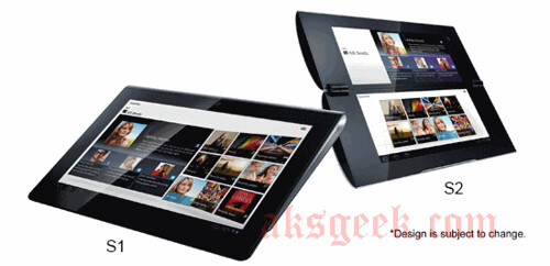 S1 and S2 Sony Tablet