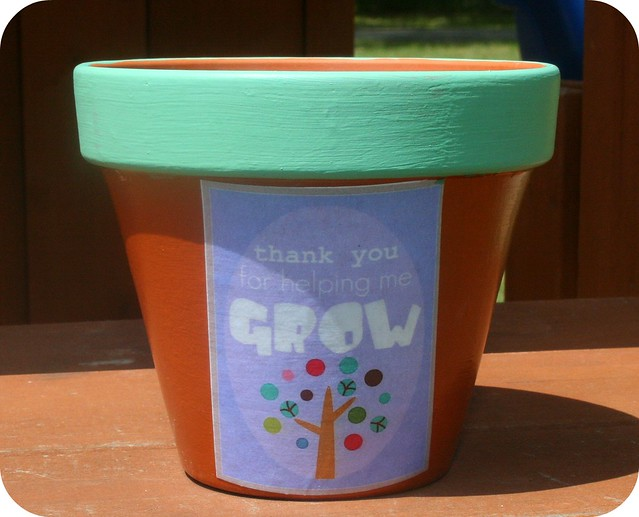 """Thank you"" Pot"