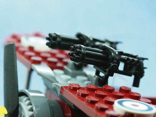 Custom minifig custom minifigure minigun