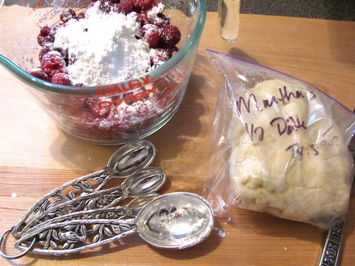 Martha Stewart's Mini Raspberry Galettes