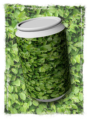 Hedge in a Can (Digital Zoetrope) Tags: 365 project365 silderssunday