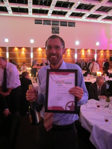 Tim Pinn - Nominated for Frontline Employee of the Year - London Transport Awards 2011