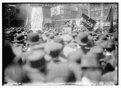 Berkman and Ganz, 5/1/14  (LOC) (The Library of Congress) Tags: newyorkcity manhattan libraryofcongress anarchist unionsquare berkman anarchists ganz xmlns:dc=httppurlorgdcelements11 alexanderberkman marieganz dc:identifier=httphdllocgovlocpnpggbain16481 may11914