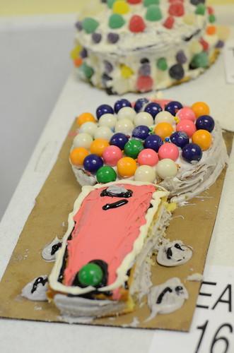 Gumball machine <br />cake