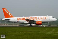 HB-JZU - 2402 - Easyjet - Airbus A319-111 - Luton - 110421 - Steven Gray - IMG_4500