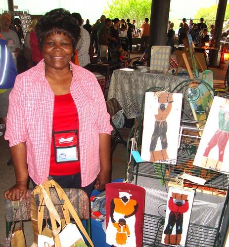Bertha Washington, Texas Ave Maker's Fair, Spring 2011 by trudeau