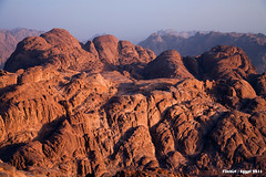 Egypt. Mount Sinai (filchist) Tags: red mountains sunrise landscape dawn rocks view peak      egyptmountsinai